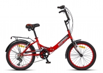 "Складной велосипед MAXXPRO COMPACT 20"" 2017"