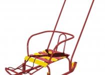 Санки «Тимка 3+» с колесами