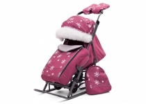Санки-коляски Pikate Снежинка