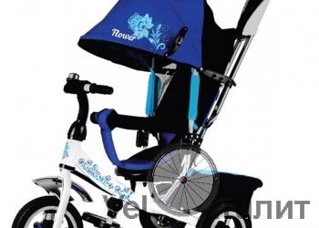 Трехколесный велосипед Trike Flower с вышивкой Гжель