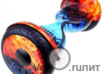 """Гироскутер Smart Balance Suv 10"""" Лед И Пламя"""