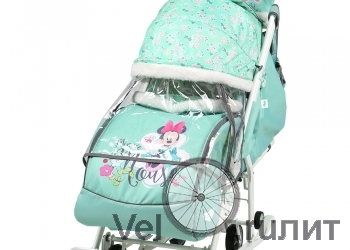 Санки-коляска  «Disney baby 2» 2019
