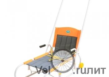 Санки «Ветерок 4» складные с колесами
