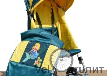 Санки-коляска с колесами СУ-11.2