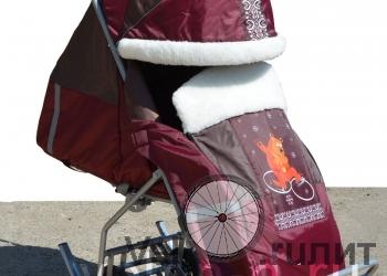 Санки-коляски с колесами СУ-14 Комфорт Плюс