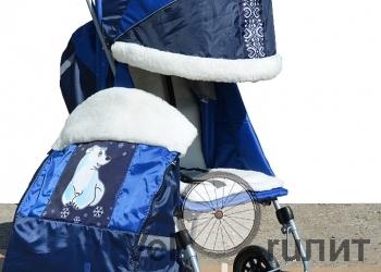 Санки-коляска СУ-14 Комфорт