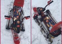 Cнегокат «SNOWPATROL» со светоотражающими элементами