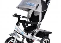 Трехколесный велосипед Trike Power Nео металлик
