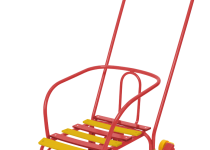 Санки «Тимка 3 ЮК» с колесами